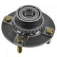 1ASHR00186-Hyundai Accent Wheel Bearing & Hub Assembly Rear