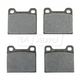 BABPS00058-OE Replacement Brake Pad Set Beck / Arnley 089-0407