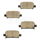 BABPS00054-OE Replacement Brake Pad Set Rear