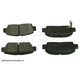 BABPS00056-1995-99 Toyota Avalon OE Replacement Brake Pad Set Rear Beck / Arnley 089-1534