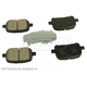 BABPS00050-OE Replacement Brake Pad Set Front Beck / Arnley 089-1538
