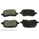 BABPS00052-1998-02 Toyota Corolla OE Replacement Brake Pad Set Front  Beck / Arnley 089-1553