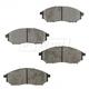 BABPS00089-Brake Pads Front Beck / Arnley 089-1689
