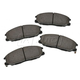 BABPS00088-OE Replacement Brake Pad Set Front Beck / Arnley 089-1675