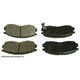BABPS00076-OE Replacement Brake Pad Set Front Beck / Arnley 089-1426
