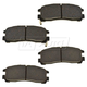 BABPS00072-OE Replacement Brake Pad Set Rear