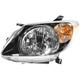 1ALHL01030-2003-04 Pontiac Vibe Headlight Driver Side