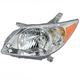 1ALHL01032-2005-08 Pontiac Vibe Headlight