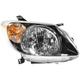 1ALHL01031-2003-04 Pontiac Vibe Headlight Passenger Side