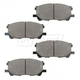 BABPS00096-Lexus RX330 RX350 RX400h OE Replacement Brake Pad Set Front  Beck / Arnley 089-1805