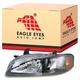 1ALHL01016-2002-03 Nissan Sentra Headlight Driver Side