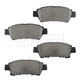 BABPS00103-2004-10 Toyota Sienna OE Replacement Brake Pad Set Rear  Beck / Arnley 089-1700