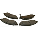 BABPS00107-OE Replacement Brake Pad Set Front Beck / Arnley 089-1726