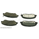 BABPS00106-OE Replacement Brake Pad Set Front Beck / Arnley 089-1789