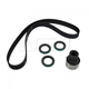 GAEEK00113-1989-95 Ford Taurus Timing Belt and Component Kit with Seals Gates TCK248P