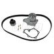 GAEEK00124-1986-94 Nissan D21 Hardbody Pickup Timing Belt Kit with Water Pump Gates TCKWP104