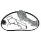 GAEEK00131-Nissan Pathfinder Timing Belt Kit with Water Pump Gates TCKWP249C