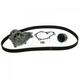 GAEEK00132-1993-95 Nissan D21 Hardbody Pickup Timing Belt Kit with Water Pump Gates TCKWP249D