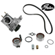 GAEEK00157-Toyota Timing Belt Kit with Water Pump & Housing Gates TCKWP199BH