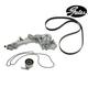 GAEEK00161-1993-95 Acura Legend Timing Belt Kit with Water Pump  Gates TCKWP193B