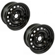 1AWHK00115-Steel Wheel Pair