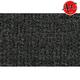 ZAICF02208-1992-98 Chevy Suburban K1500 Passenger Area Carpet 7701-Graphite