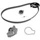 GAEEK00008-Acura Integra Honda CR-V Timing Belt Kit with Water Pump Gates TCKWP184