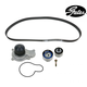 GAEEK00002-Timing Belt Kit with Water Pump Gates TCKWP265B