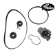 GAEEK00003-Timing Belt Kit with Water Pump  Gates TCKWP244