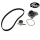 GAEEK00005-Timing Belt Kit with Water Pump Gates TCKWP224