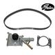 GAEEK00020-2000-04 Ford Focus Timing Belt Kit with Water Pump Gates TCKWP283