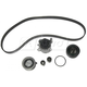 GAEEK00044-Volkswagen Beetle Golf Jetta Timing Belt Kit with Water Pump Gates TCKWP321