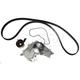 GAEEK00054-1995-97 Honda Accord Timing Belt Kit with Water Pump Gates TCKWP263