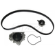 GAEEK00052-Honda Civic Civic Del Sol Timing Belt Kit with Water Pump Gates TCKWP227