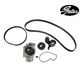 GAEEK00076-1993-01 Honda Prelude Timing Belt Kit with Water Pump Gates TCKWP226