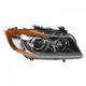 HELHL00002-BMW Headlight Passenger Side Hella 354688061