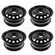 1AWHK00062-Ford Fiesta Focus Steel Wheel