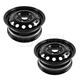 1AWHK00061-Ford Fiesta Focus Steel Wheel Pair  Dorman 939-115