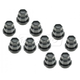 1AWHK00034-Lug Nut Cap Black