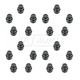 1AWHK00036-Lug Nut Cap Black