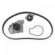 GAEEK00093-Honda Civic CRX Timing Belt Kit with Water Pump Gates TCKWP145