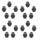 1AWHK00029-Lug Nut Cap Black