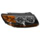 1ALHL01484-2007 Hyundai Santa Fe Headlight