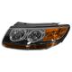 1ALHL01485-2007 Hyundai Santa Fe Headlight