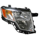 1ALHL01494-2007-10 Ford Edge Headlight Passenger Side