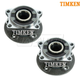 TKSHS00685-Volvo Wheel Bearing & Hub Assembly Rear Pair Timken HA590218