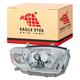1ALHL01579-2008-10 Toyota Highlander Headlight Passenger Side