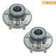TKSHS00669-Wheel Bearing & Hub Assembly Rear Pair