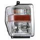 1ALHL01506-2008-10 Ford Headlight Passenger Side