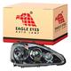 1ALHL01226-2005-06 Acura RSX Headlight Passenger Side